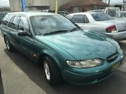 1996 Ford Falcon EL GLi Green 4 Speed Automatic Wagon Revesby Bankstown Area Preview