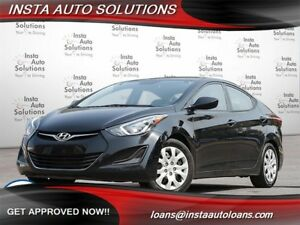 2014 Hyundai Elantra GL w/ warranty - Good & bad credit welcome!