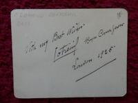 Edouard Cotreuil French Opera Singer Autograph 1925 -  - ebay.co.uk