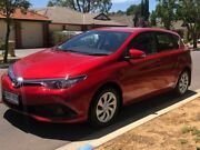 2016 Toyota Corolla ZRE182R Ascent S-CVT Red 7 Speed Constant Variable Hatchback Hillcrest Port Adelaide Area Preview