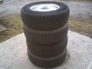 P215/75R15 Used Tires on Rims.....