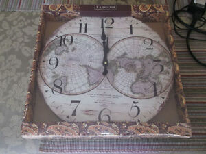 Wall Clock New Never Opened Large Numbers