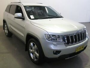 2011 Jeep Grand Cherokee WK Limited (4x4) Silver 5 Speed Automatic Wagon Westdale Tamworth City Preview