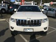 2011 Jeep Grand Cherokee WK MY2012 Laredo White 5 Speed Sports Automatic Wagon Lilydale Yarra Ranges Preview