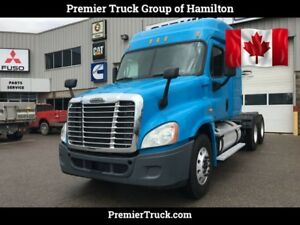 2012 Freightliner Cascadia Big power, Extended Day Cab, Tank Spe