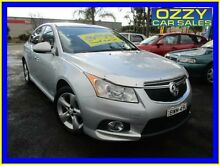 2011 Holden Cruze JH MY12 SRi V Silver 6 Speed Manual Sedan Minto Campbelltown Area Preview