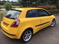 Fiat Stilo 1.8 16v Dynamic 3dr Yellow Hatchback Velor Interior 12Mths Mot Quick Sale P/X to Clear