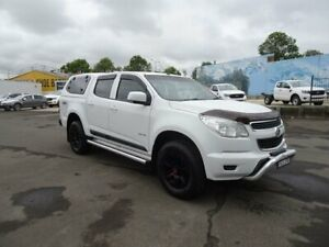 2013 Holden Colorado RG MY14 LX Crew Cab White 6 Speed Manual Utility Nowra Nowra-Bomaderry Preview