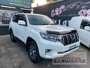2019 Toyota Landcruiser GDJ150R MY18 Prado GXL (prem Int) (4x4) White 6 Speed Automatic Wagon Barrack Heights Shellharbour Area Preview