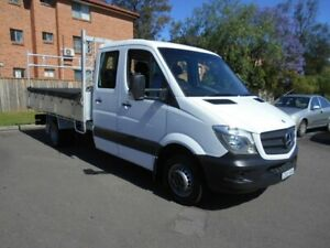2014 Mercedes-Benz Sprinter 906 MY14 516CDI LWB White 6 Speed Manual Dual Cab Chassis Bankstown Bankstown Area Preview