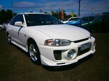 1998 Mitsubishi Lancer CE MR White 5 Speed Manual Coupe Moorabbin Kingston Area Preview