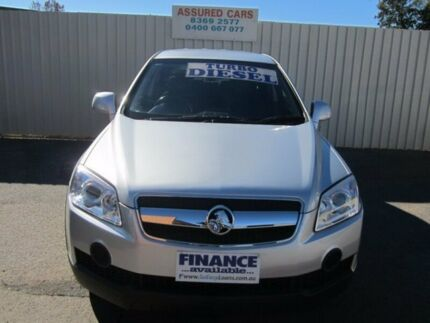 2009 Holden Captiva CG MY09.5 SX (4x4) Silver 5 Speed Automatic Wagon