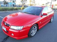 2004 Holden Commodore VZ SV6 Red 5 Speed Auto Active Select Sedan Maidstone Maribyrnong Area Preview