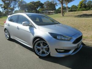 2015 Ford Focus LZ Titanium Silver 6 Speed Automatic Hatchback Old Reynella Morphett Vale Area Preview