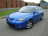 2006 MAZDA 3 GS SPORT 66000 KMS HATCHBACK 66000 KMS ''ONE TAX''