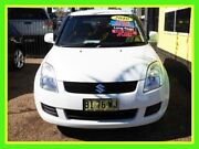 2010 Suzuki Swift RS415 GLX White 5 Speed Manual Hatchback Minchinbury Blacktown Area Preview