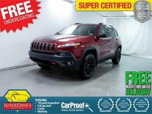 2015 Jeep Cherokee Trailhawk 4X4 *Warranty* $193 Bi-Weekly OAC