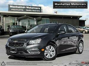 2015 CHEVROLET CRUZE 1LT - 1 OWNER|BACK UP CAMERA|PHONE|WARRANTY