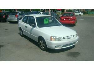 2002 Hyundai Accent GS 102000 KM ONLY !!!