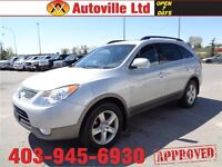 2010 Hyundai Veracruz Limited AWD LEATHER ROOF DVD $15988