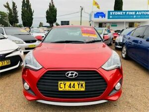 2013 Hyundai Veloster FS3 SR Coupe Turbo Red 6 Speed Manual Hatchback Minchinbury Blacktown Area Preview