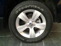 JEEP PATRIOT ALUMINUM OEM RIMS AND TIRES