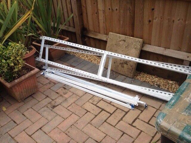 metal shelving frame