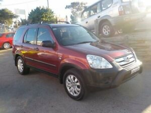 2005 Honda CR-V RD MY2005 Special Edition 4WD Red 5 Speed Manual Wagon North St Marys Penrith Area Preview