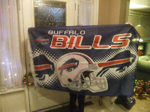 Buffalo Bills flag and banner - new