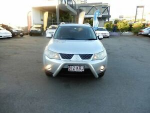 2007 Mitsubishi Outlander ZG MY08 VR Silver 6 Speed Auto Sports Mode Wagon Coorparoo Brisbane South East Preview