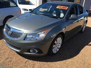 2012 Holden Cruze JH MY12 CDX Grey 6 Speed Automatic Sedan St Marys Penrith Area Preview