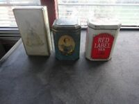 vintage tins red label tea queens coronation