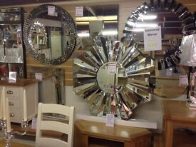 New modern and traditional mirrors large and small OPEN SUNDAY 1-3 pm