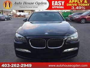 2010 BMW 750Li xDrive NAVIGATION AWD M PKG 90 DAYS NO PAYMENTS!