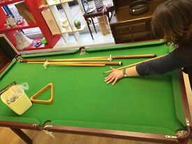 """Snooker Table 6"""" x 3"""""""