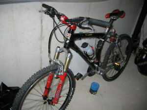 Vintage 1998 GT STS Thermoplastic full suspension mountain bike
