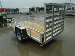 Low priced aluminum trailers - 2017 Qaulity 5 x 10 utility trail London Ontario image 2