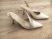 Bridal Wedding Shoes - Good as New - Only Worn Once - Boxed - Size 5.5