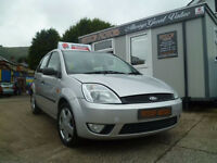 2004 FORD FIESTA ZETEC TDCi-- ###will be sold with a years mot##87k warranted