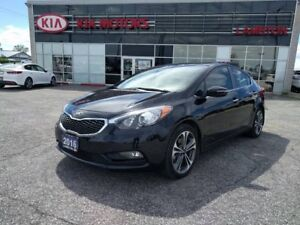 2016 Kia Forte SX 4dr LEATHER, Navi, SUNROOF, One Owner