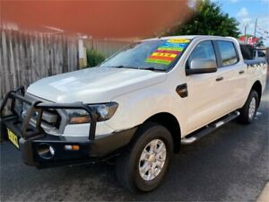 2015 Ford Ranger PX MkII XLS 3.2 (4x4) White 6 Speed Automatic Dual Cab Utility
