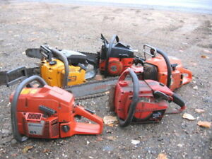 WANTED: CHAINSAWS FOR PARTS, CASH PAID!