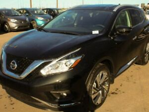 2017 Nissan Murano PLATINUM: LEATHER, COOLED SEATS, HEATED STEER