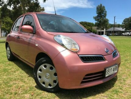 2009 Nissan Micra K12 Pink 4 Speed Automatic Hatchback Somerton Park Holdfast Bay Preview