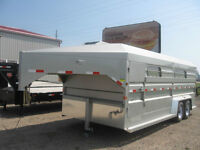 2016 NORBERT Stock trailers, tag or goose, different sizes!
