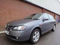 2004 NISSAN ALMERA 1.5 SE 5dr Only 1 Owner Car