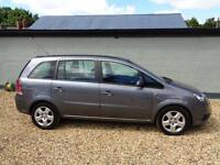 2008 Vauxhall Zafira 1.6 16v Exclusiv Petrol Maunal Only 79k Miles 7 SEATER
