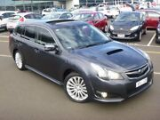2010 Subaru Liberty B5 MY10 GT AWD Premium Graphite 5 Speed Sports Automatic Wagon Strathmore Heights Moonee Valley Preview