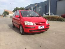 2005 Hyundai Getz TB GL Red 4 Speed Automatic Hatchback Spotswood Hobsons Bay Area Preview
