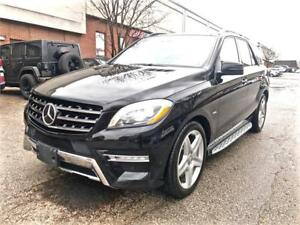 2012 Mercedes-Benz M-Class ML 550, DISTRONIC+, ACCIDENT FREE